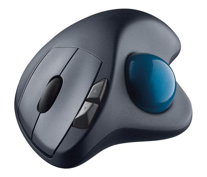 screenshot showing Logitech 570 model, our #1 mouse for carpal tunnel syndrome