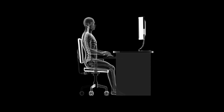 Keeping correct posture when sitting in front of the computer can help protect from getting carpal tunnel syndrome from gaming